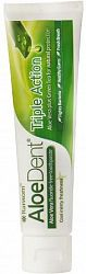 Aloe Dent, Aloe Vera Triple Action toothpaste 100ml