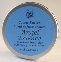 Cocoa Butter & Shea Nut Butter Hand & Body Cream 200g Angel Essence Scented 200g
