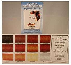 Colora Water Colors Golden Brown Powder 6g Permanent