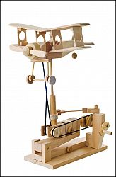 The Bi-Plane. Self Assembly Automaton Kit