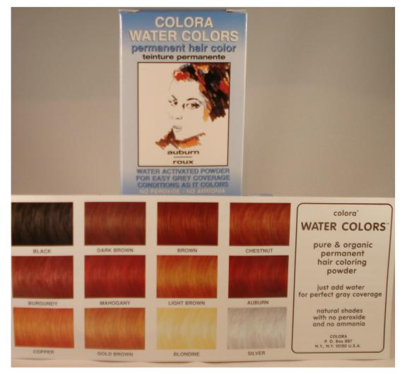 The Tree House Shop Colora Water Colors Mahogany Powder 6g Permanent